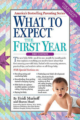 What to Expect the First Year by Heidi Murkoff (2014, eBooks)