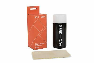 Acc-Sees Pro Vinyl Record Cleaning Fluid (250ml) – Includes Microfibre Lint-F...