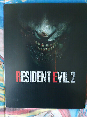 Resident Evil  2 Remake  Promo + Steelbook Ps4 Playstation 4 Disc Rare