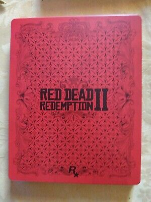 Red Dead Redemption 2 Promo + Steelbook Ps4 Playstation Promotional Disc Rare