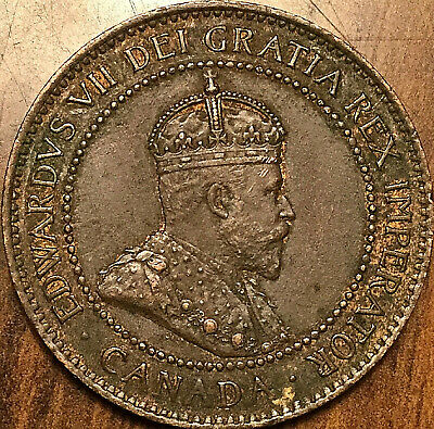 1903 CANADA LARGE CENT LARGE 1 CENT PENNY - Excellent example!