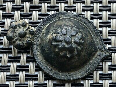 ANCIENT BYZANTINE MEDIEVAL BRONZE BUCKLE 9th - 13th CENTURY AD