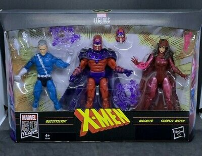 "Marvel Legends 6"" X-Men Family Matters 3-Pack (Magneto, Quicksilver, Scarlet..)"