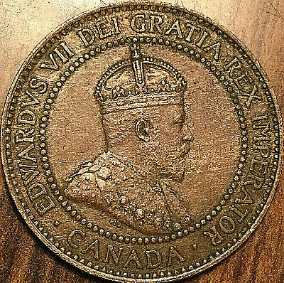 1909 CANADA LARGE CENT LARGE 1 CENT PENNY - Fantastic example!