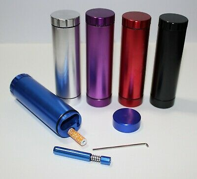 DUGOUT Grinder Combo w/ Bat & Spring One hitter pipes OUTDOOR KIT no glass weeds