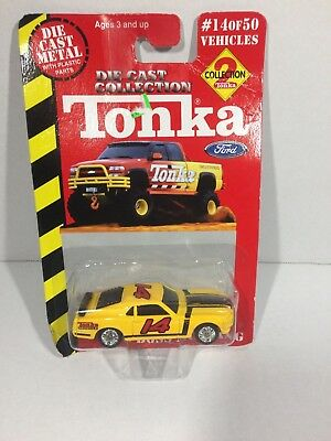 Maisto Tonka Collection 2 '70 Boss Mustang 1:64 Scale Diecast  mb189