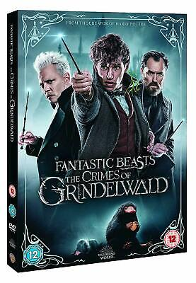 Fantastic Beasts: The Crimes of Grindelwald DVD Region 2, New and Sealed.