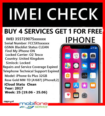 Apple iPhone IMEI checker Network Carrier Check Sim lock status check All Models