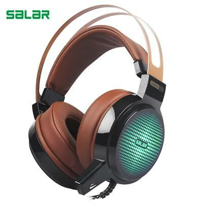 Salar C13 Wired Gaming Headset Deep Bass Game Earphone Computer headphones with