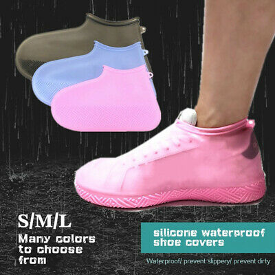 Silicone Rainproof Slip-resistant Shoe Covers Rain Boots Footwear cover