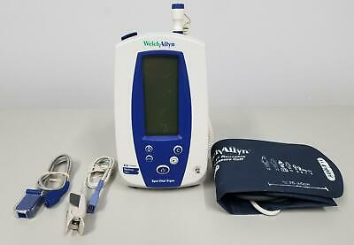 Welch Allyn 42NTB SpO2 Spot Vital Signs Monitor with Cables, Cuffs and Sensors