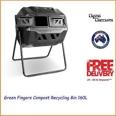 Green Fingers Compost Recycling Bin 160L