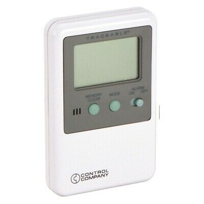 TRACEABLE 4527 Digital Refrigerator Freezer Incubator Thermometer