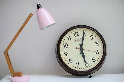 Vintage Smiths Sectric Bakelite Electric Wall Clock - Office - School - Factory