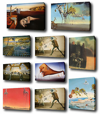 Salvador Dali Gogh HD Canvas Combinations Painted Oil Printed Wall Decor