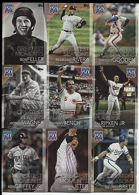 2019 Topps Series 2  150 Years of Professional   (YOU Pick  Your  Player)