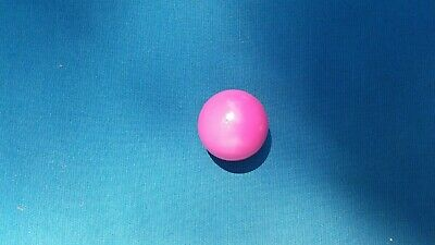 Pallino (Pink) Large Ball-Official Solid Wood Target Bocce  Ball- Made In Italy