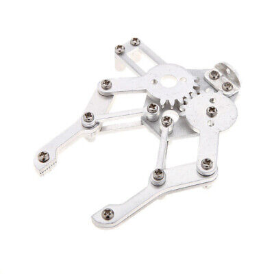 10X(aluminum alloy Mechanical Robotic Arm Clamp Claw Mount Robot Kit for Ar 9L9)