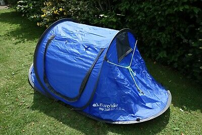 2 Man Pop Up Tent Euro Hike 200 SD Ideal for Festival