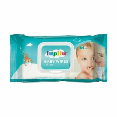 Lupilu Baby Wipes - Comfort or Sensitive - 64 Wipes Per Pack