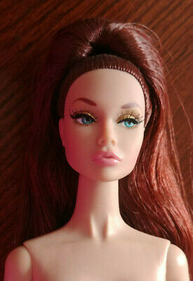 Integrity Fr Poppy Parker Nude - 'Golden Holiday' - Long Brown Hair - Exquisite
