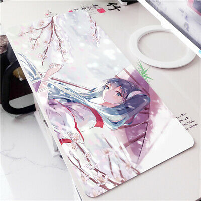 Vocaloid Hatsune Miku Anime Girl Large Mouse Pad Keyboard Mat Game Playmat