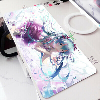 Vocaloid Hatsune Miku Anime Large Mouse Pad Desk Keyboard Mat Gaming Play Mat