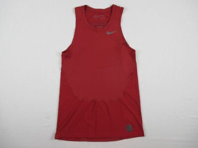 NEW Nike - Crimson Dri-Fit Compression  Sleeveless Shirt (Multiple Sizes)