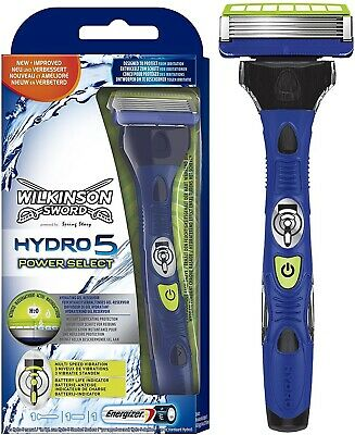 Wilkinson Sword Hydro 5 POWER Select Multi-Speed Vibration Razor Trimmer