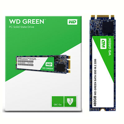 480GB WD GREEN SATA SSD M.2 2280 PC Solid State Drive SATA 6GB/s for Computer PC