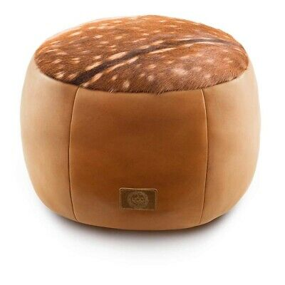 UGG Australia Deer Leather Ottoman Medium & Large