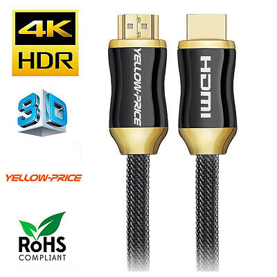 PC to TV Cable 25Ft HDMI Cable,High Speed with Ethernet 4K x 2K, 24K Gold-Plated