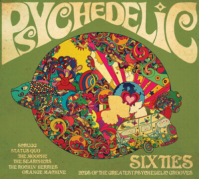 Various Artists : Psychedelic '60s CD 2 discs (2019) ***NEW*** Amazing Value