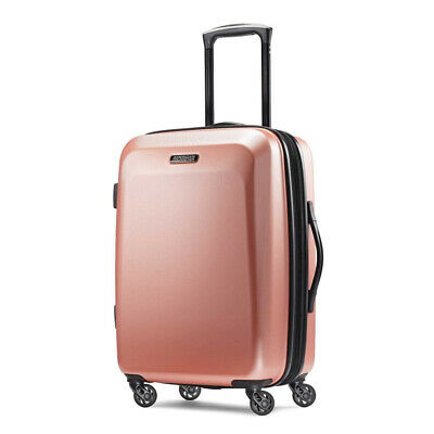 American Tourister Moonlight Expandable Hardside Luggage with Rose Gold