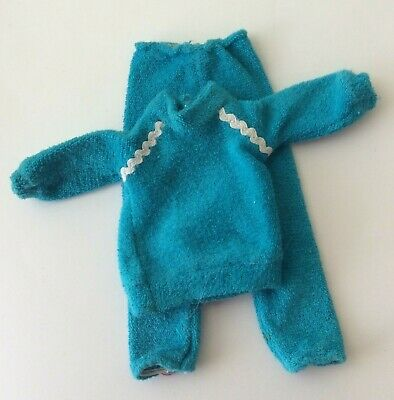 Sindy doll 1983 Keeping Fit Outfit 44015 Jogging Tracksuit vintage dolls clothes