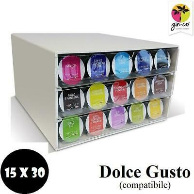 Natfood Kit Capsule Gin-Co Compatible Dolce Gusto Nescafe' 450Pz