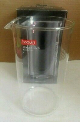 Bodum Spare Glass Beaker 1.0L 34oz Clear Glass