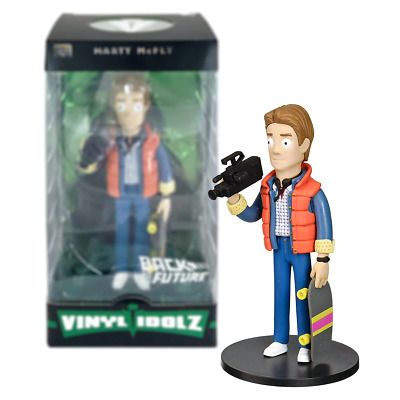 """New Back To The Future Marty McFly Vinyl Idolz 8"""" Figure #4 Official"""