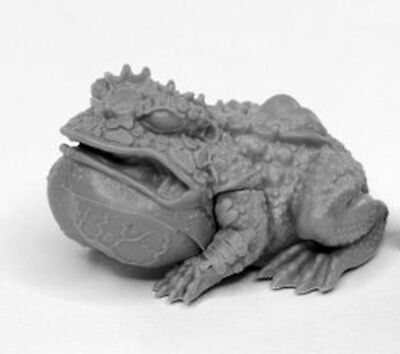 1x GIANT FROG ANGRY -BONES REAPER figurine miniature rpg jdr crapaud toad 44024l