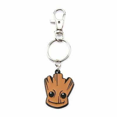 Guardians of The Galaxy Groot Metal Keyring Keychain - Marvel Avengers