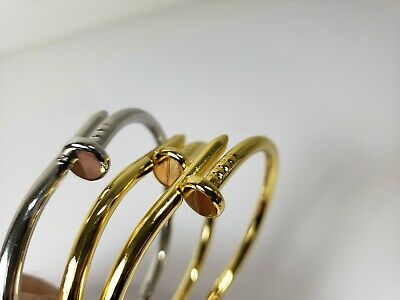 Nail Love Bracelet stainless steel bangle Fast Shipping