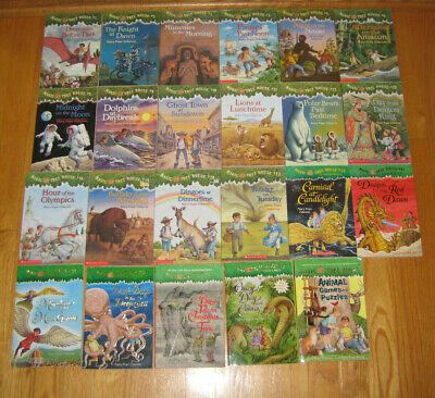Lot Of 23 Magic Tree House Books With Merlin Missions By Mary Pope Osborne