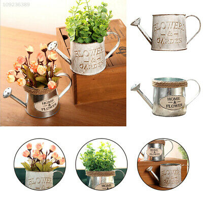 F782 Iron Flower Pot Decor Home Holder Flowerpot Potted Plant Display Stand