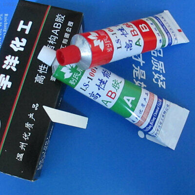 C865 A+B Resin Adhesive Glue with Stick For Super Bond Metal Plastic Wood New