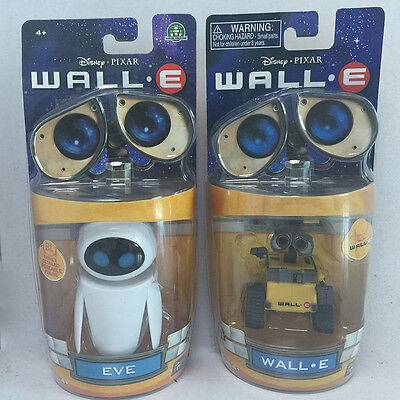 2PC/set Toy story Wall-E y Vah Eee Eva PVC Mini figuras acción juguetes regalo