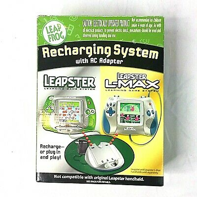Leap Frog Recharging System with AC Adapter Leapster and Leapster L Max
