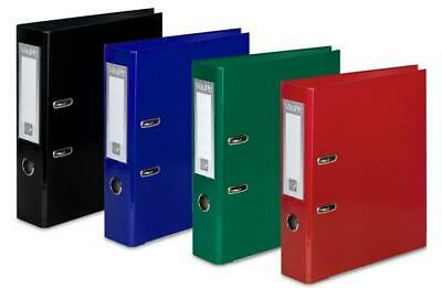 1/5/10 A4 Large 75mm Lever Arch Files Folders Stationery Metal Documents [070]