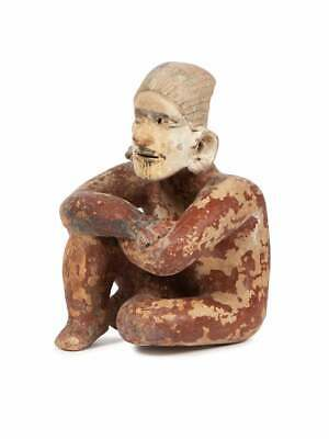 Ancient Pre Columbian Jalisco, Mexico Pottery figure c.500 BC-500 AD.