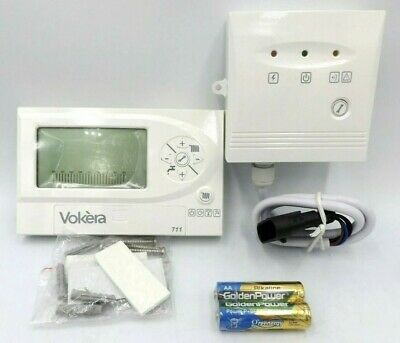 Opentherm programmable thermostat