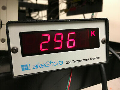 LakeShore Cryotronics Model 200 Temperature Monitor, Single Channel
